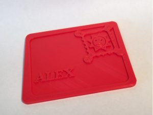 Thingiverse 1653920 - Customizable toy envelope